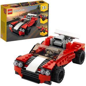 ASSEMBLAGE CONSTRUCTION LEGO® Creator 31100 La voiture de sport