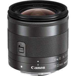 OBJECTIF Canon Objectif EF-M 11-22 mm f-4-5.6 IS STM 18 mm