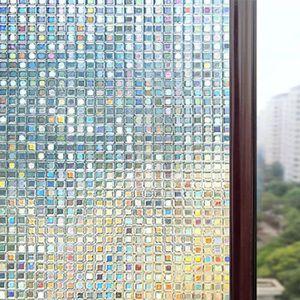 FILM POUR VITRAGE 45x200CM Film adhesif decoratif, Film adhesif vitr