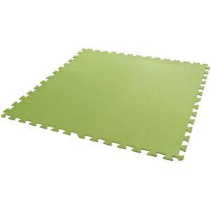 BÂCHE - COUVERTURE  Dalles de sol verte 81 x 81 cm 8 pièces