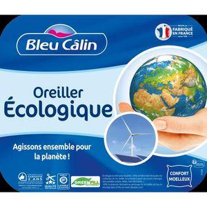 OREILLER BLEU CALIN Oreiller écologique - 60 x 60 cm