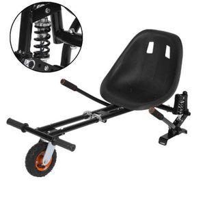 ACCESSOIRES GYROPODE - HOVERBOARD Kit Kart pour Hoverboard Noir suspension 6,5
