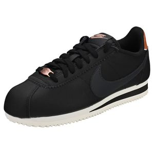 outlet store 02896 aac75 BASKET Nike Classic Cortez Femme Baskets Anthracite Noire ...