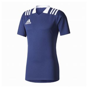 MAILLOT DE RUGBY Maillot Rugby Adidas training enfant marine 03d8bf36bd09