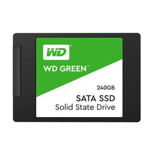DISQUE DUR SSD WD Green 240 Go Disque dur SSD à semi-conducteurs