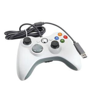 MANETTE JEUX VIDÉO contrôleur Manettes USB filaire Gamepad Game pad J