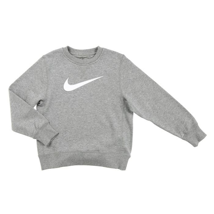 nike sweat enfant gris chin achat vente sweatshirt cdiscount. Black Bedroom Furniture Sets. Home Design Ideas