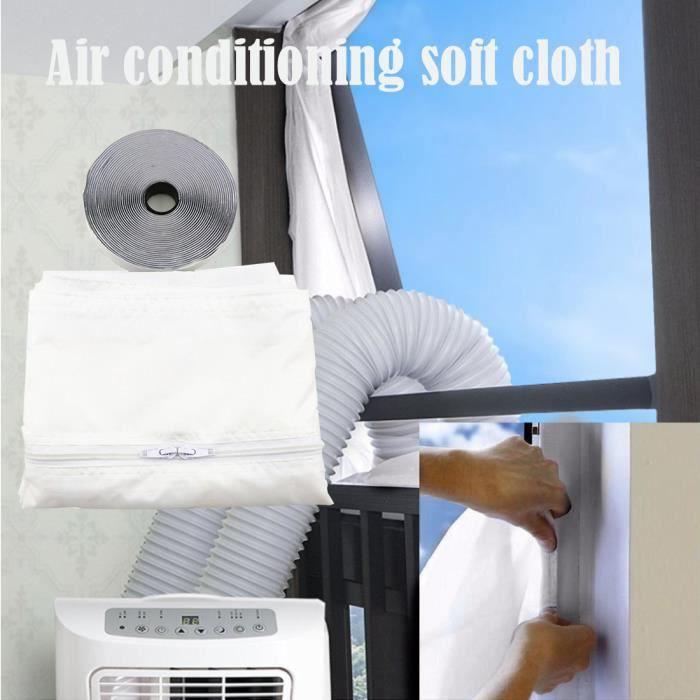 Scellage de fenêtre pour climatiseurs mobiles Séchoirs et échappement de climatiseurs