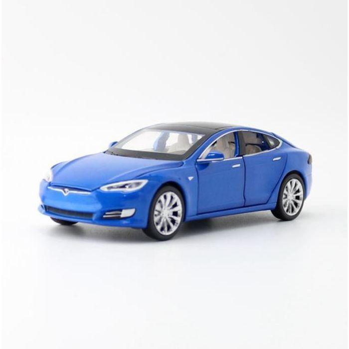 Tesla modèle X MODEL3 alliage voiture modèle Diecasts & jouets véhicules jouet voitures enfant jouets pour enfants cadeaux garçon