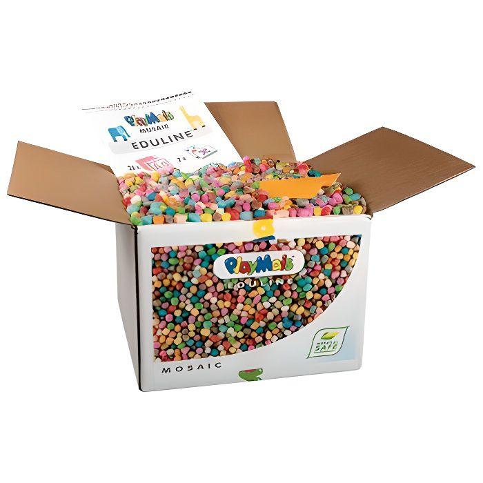 Carton de 12 000 flocons PLAYMAIS Mosaïc - Coul...