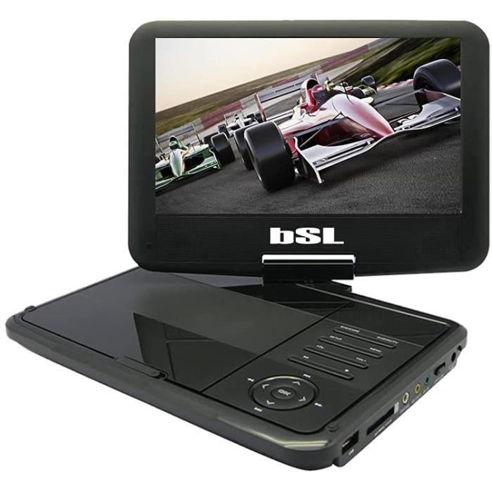 Lecteur DVD portable 9 pouces pour voiture DVD91P compatible avec DVD, CD et fichiers multimédia[5]