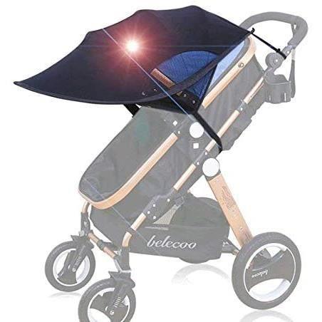 HiCollie Parasol pare-soleil pare-soleil pour poussette et buggy universel104