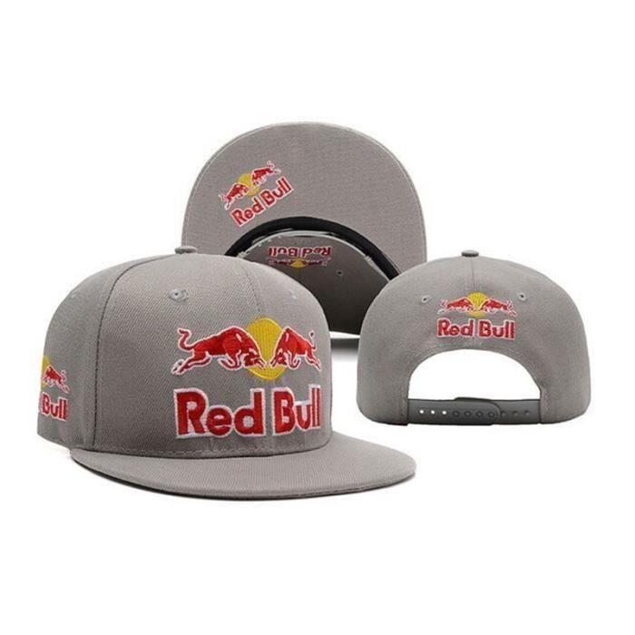 RED BULL casquette de baseball vache rouge casque de soleil de taille ajustable Red bull Chapeau bulls casquette style hip-hop