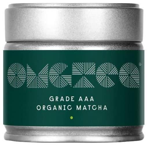 Thé vert matcha bio - Poudre de thé matcha japonais de grade AAA 30g - Augmente l'énergie - Augmente le métabolisme - Améliore la co
