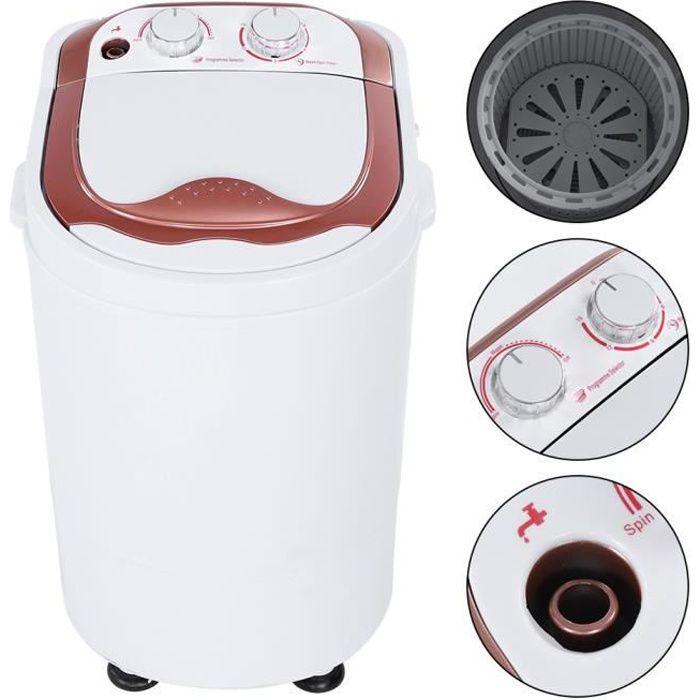 Mini machine à laver - Mini Lave Linge Machine à Laver Automatique - Economie d'eau et d'Energie