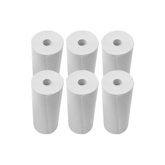 Rouleaux de papier thermique de caisse enregistreuse de papier de reçu 80x30mm pour imprimante de reçus