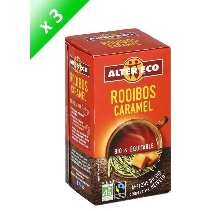 [LOT DE 3] Alter Eco Rooibos Caramel 40g
