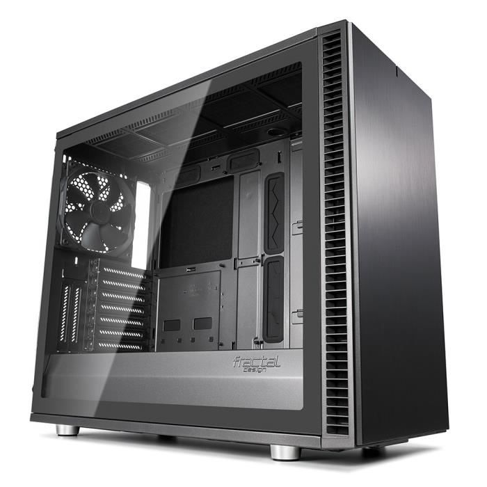 Fractal Design Define S2, Gunmetal, Glass, Light
