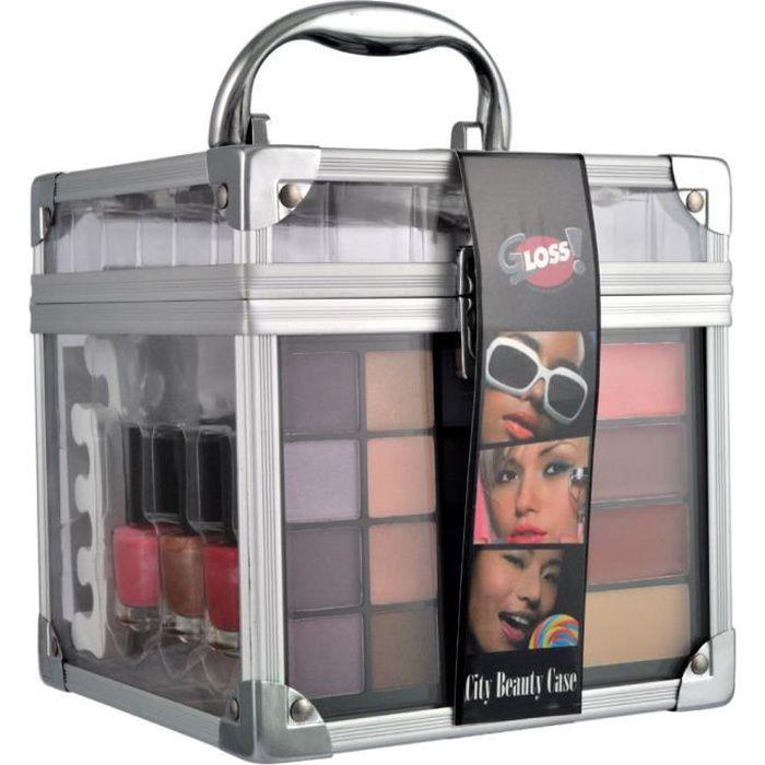 Coffret cadeau coffret maquillage mallette de maquillage collection City Beauty Case - 36pcs