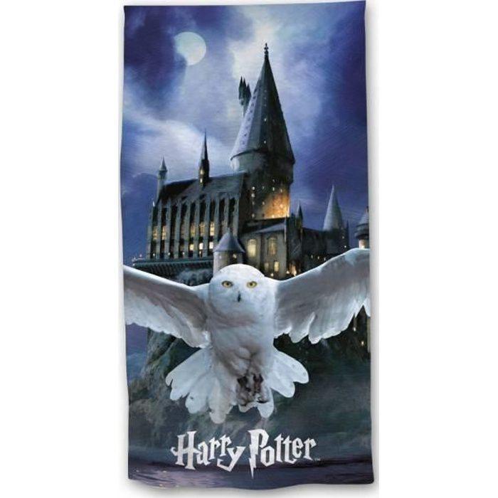 Drap de plage ou Serviette de plage Harry Potter 100% Coton