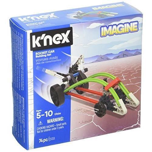 KNEX - Rocket Car Building Set 74 Pieces For Ages 5+ Construction Education Toy