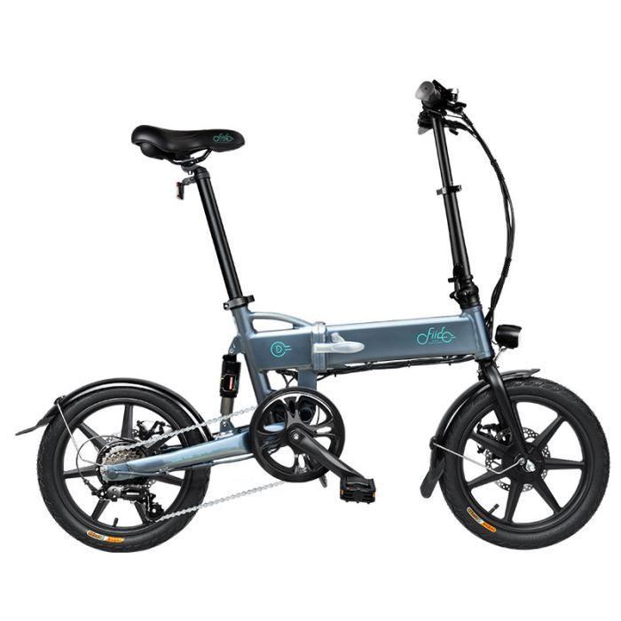 Vélo électrique à vitesse variable FIIDO D2s Cyclomoteur E-Scooter Vélo assistance électrique Pliable 7.8Ah 2600mAh 250W 25km/h