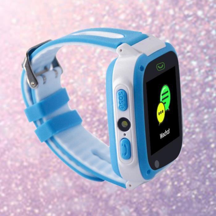 1 pc Kid Smartband Enfants Podomètre Silicone T10 SOS Bracelet Sans Fil pour Sports MONTRE OUTDOOR - MONTRE MARINE