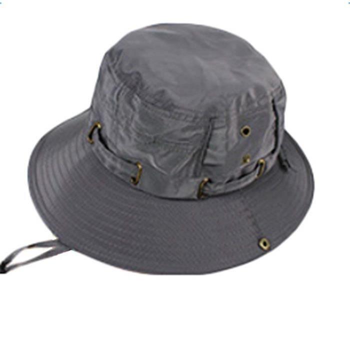 Chapeaux Homme Été Pliable Polyester Matériel pour Camping et Randonnée@M2576