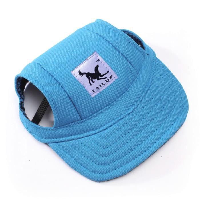Bleu-S -Casquette pour chiens,chapeau de Baseball,en toile décontracté,pour Chihuahua Yorkshire,en 11 couleurs