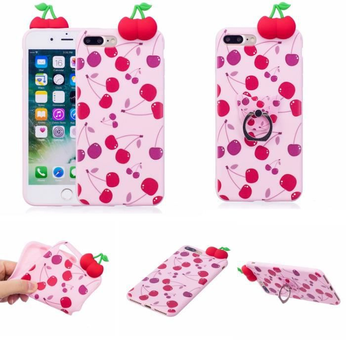 coque iphone 8 plus cerise