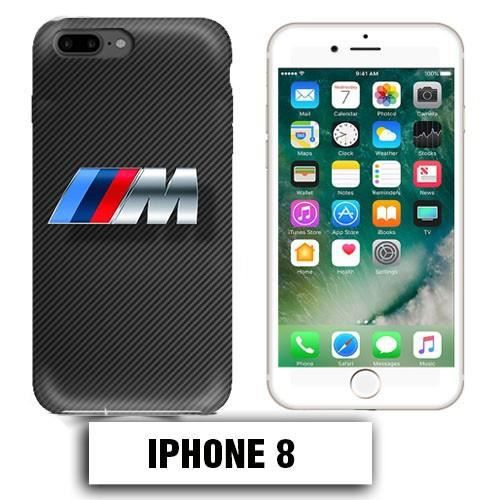 coque iphone 8 bmw m power carbone