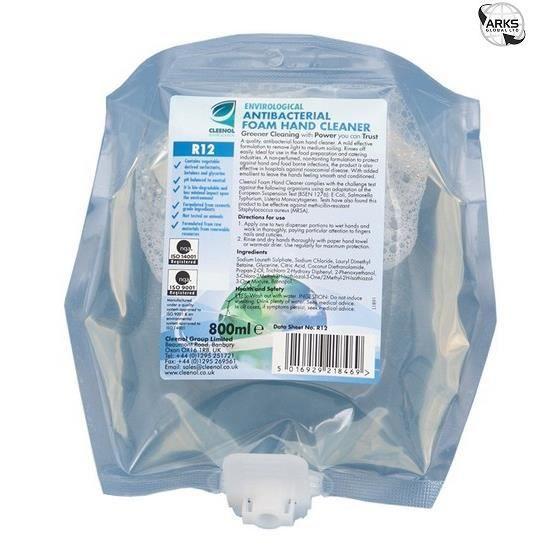 SAVON - SYNDETS Mousse de nettoyage CLEENOL mains antibactérien -