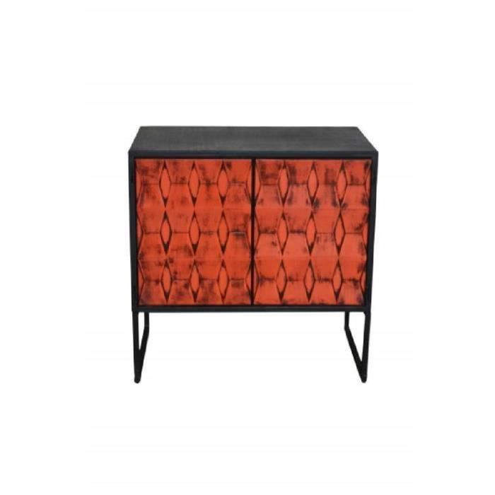 commode orange achat vente commode orange pas cher cdiscount. Black Bedroom Furniture Sets. Home Design Ideas