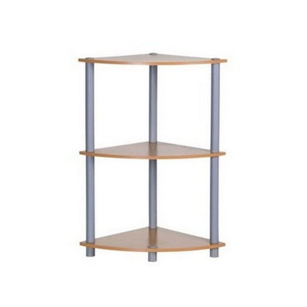 etagere d 39 angle a poser en bois pour chambre ch achat. Black Bedroom Furniture Sets. Home Design Ideas