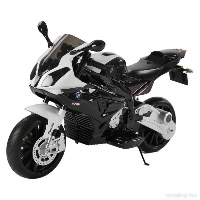 moto lectrique enfant bmw s1000 rr achat vente voiture enfant cdiscount. Black Bedroom Furniture Sets. Home Design Ideas