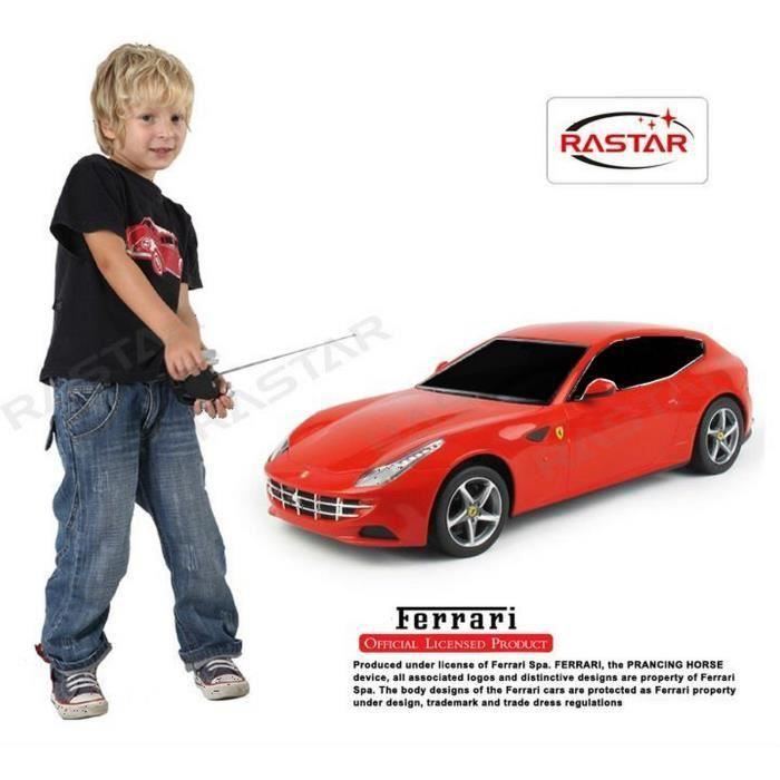 voiture t l command e ferrari ff chelle 1 24 achat. Black Bedroom Furniture Sets. Home Design Ideas
