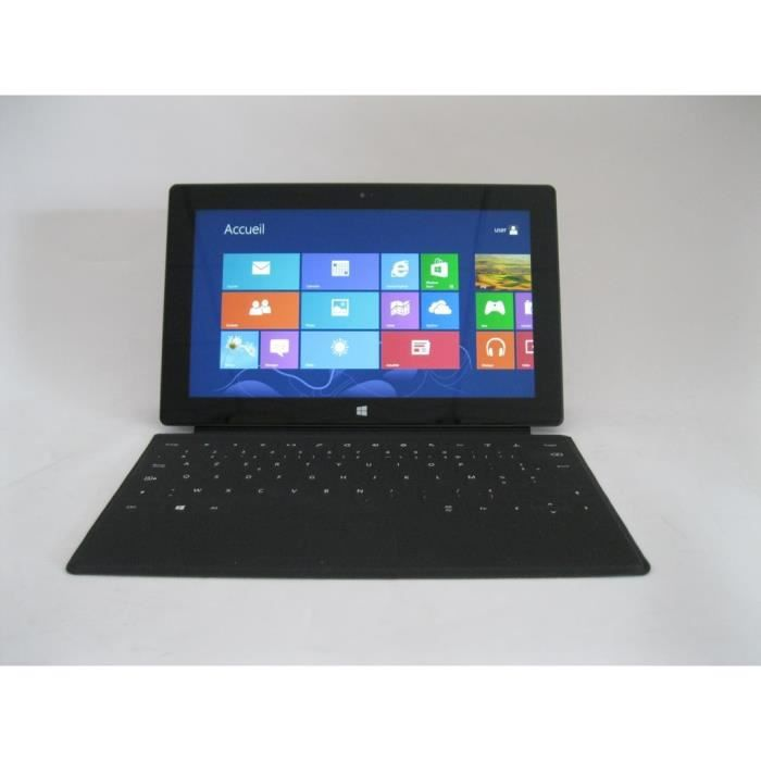 microsoft surface 1516 32gb prix pas cher cdiscount. Black Bedroom Furniture Sets. Home Design Ideas