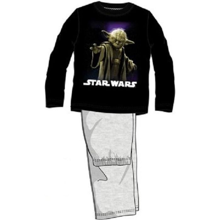 pyjama long star wars achat vente chemise de nuit cdiscount. Black Bedroom Furniture Sets. Home Design Ideas