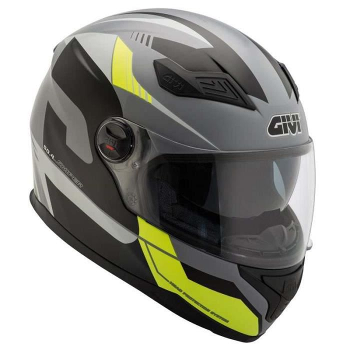 S Noir//Fluo Casque moto HJC i70 ASTO MC4H