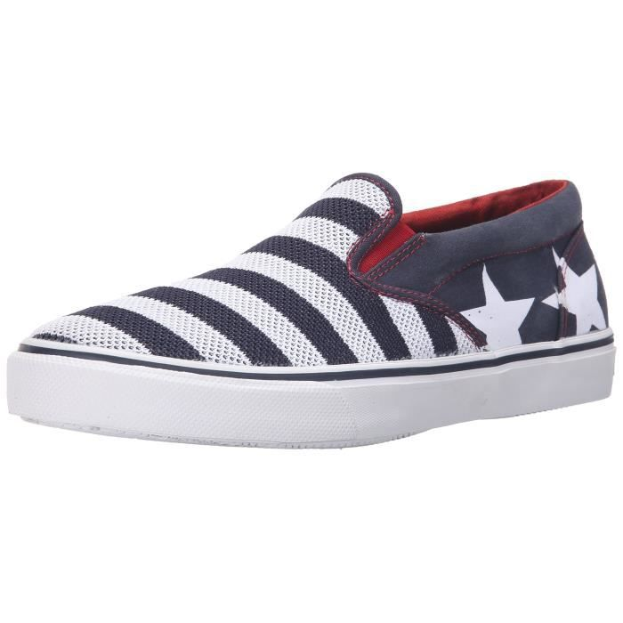 Sperry Top-sider Striper Slip On Stars And Stripes Fashion Sneaker ZAAPT 39 P7Uei5PY