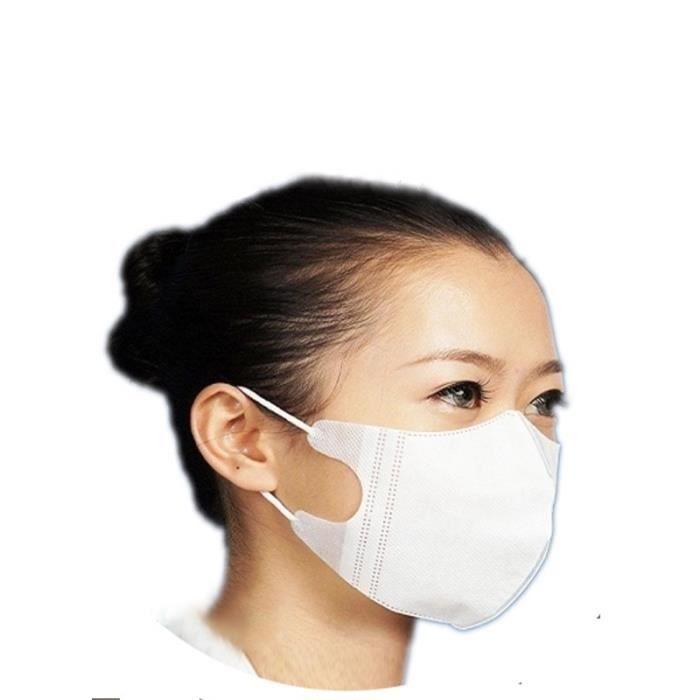masque visage medical jetable