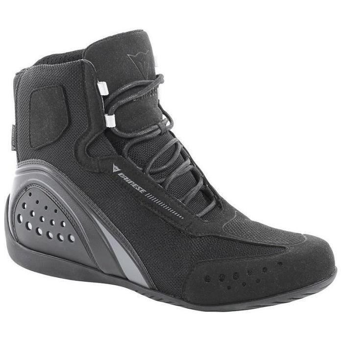 Chaussures moto Dainese MOTORSHOE AIR SHOES JB (39 - BLACK/BLACK/ANTHRACITE) fD6H78