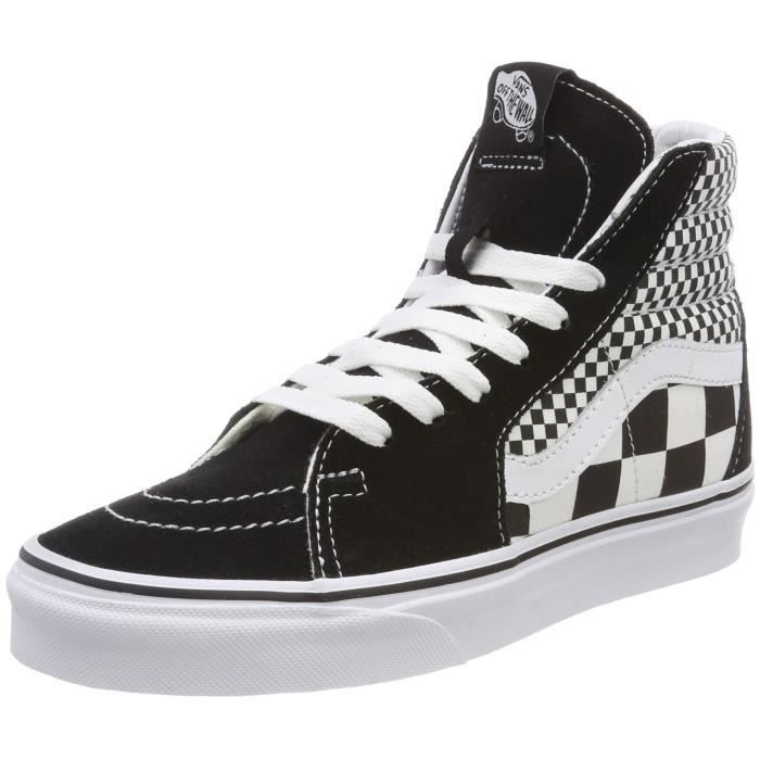 Vans Men's Sk8 Hi (mix Checker) G6OBO Taille-37 1-2