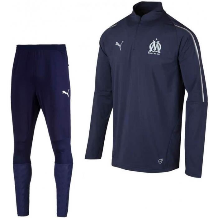 save up to 80% good looking on feet images of OM Marseille Survetement Football Puma Training 2018/19