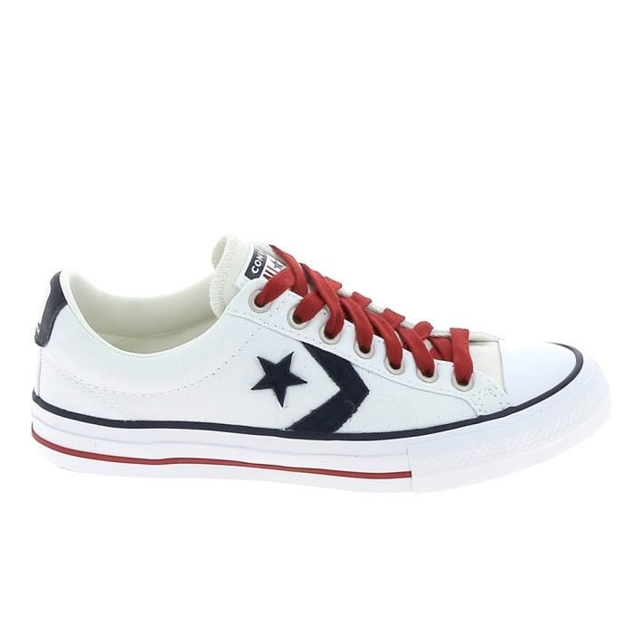 converse star player rouge