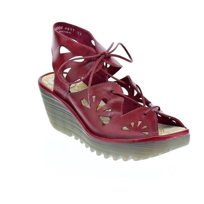 Sandales - Fly London Yote ColmarFemmeRouge 37
