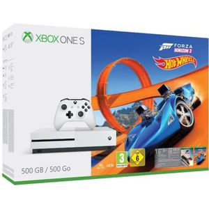 CONSOLE XBOX ONE Pack Xbox one S 500 Go FH3 Hot Wheels