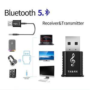 Récepteur audio 2020 Récepteur Bluetooth USB 5.0 Adaptateur émette