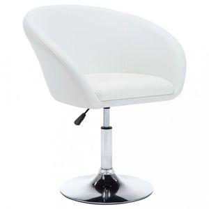 CHAISE R190 Couleur blanc Oslo Cet ensemble de 4 chaises