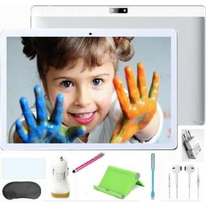 TABLETTE TACTILE Teeno Tablette Tactile HD 10.1'' Blanc Double SIM